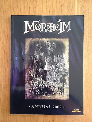 Mordheim Annual/ Guide Book Excellent Condition  2002 Games Workshop OOP