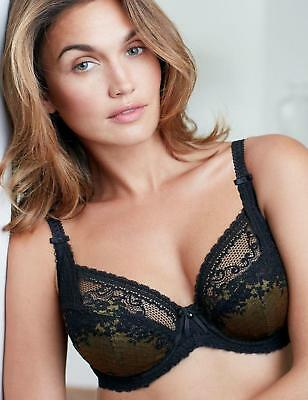Charnos Bridgette Bra 1644040 Underwired Non Padded Full Cup Bra New Lingerie