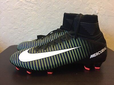 Big Kids Jr Mercurial Superfly V Fg Sz 4Y Youth Soccer Futbol 831943 013 $150