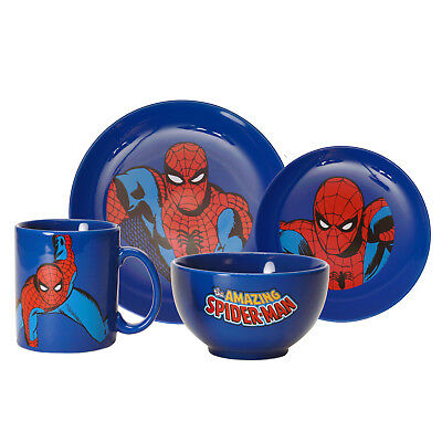 Geschirrset Spiderman Geschirr Set Spider-Man Geschirr Spider Man Amazing TV