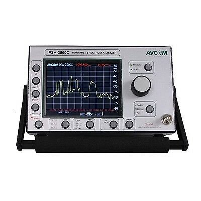 Avcom PSA-2500C (5 MHz - 2500 MHz) Spectrum Analyzer