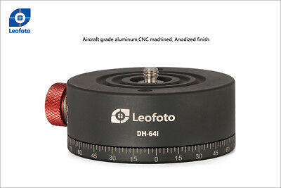 LEOFOTO DH-64 Indexing Rotator for 360° Pano Panorama 64mm NEW