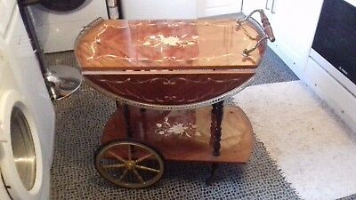 Vintage Italian drinks trolley