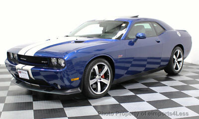 2011 Dodge Challenger CERTIFIED SRT8 HEMI 392 INAUGURAL EDITION 6 SPEED INNAUGURAL EDITION COUPE 6 speed SUNROOF navigation FULL LEATHER clean carfax
