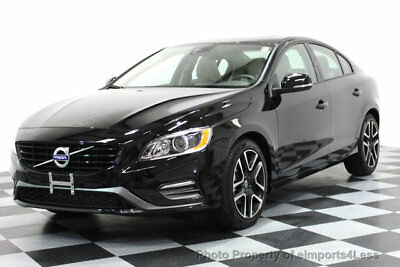 2017 Volvo S60 CERTIFIED S60 T5 DYNAMIC NAVIGATION CLEAN CARFAX 11k miles NAVIGATION leather MOONROOF heated seats SIRIUS warranty
