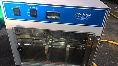 FisherBiotech Hybridization Incubator, Model FBH110 + 4pcs hyb glass chambers!