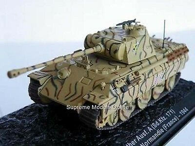 Panther Tank Normandie Lssah France 1944 1/72Nd Size Army Example Pkd T3412Z(=)