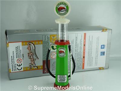 Buffalo Petrol Gas Pump Model 1/18Th Scale Visible Green/white Example T3412Z(=)