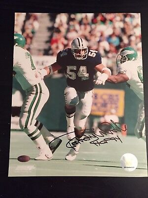 Randy White Autographed 8x10 Photo  .......Certified. Mounted Memories