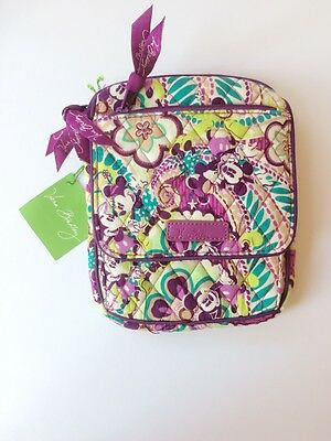 NWT Vera Bradley Disney Mini Hipster in Plums Up Mickey Mouse Limited Edition