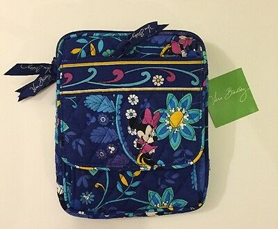 NWT Vera Bradley Mini Hipster Disney Limited Dreaming Blue Mickey Mouse & Minnie