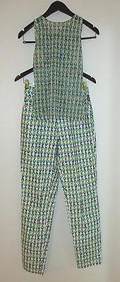 90's new nwot VERSACE vintage JEANS COUTURE outfit set MESH BLOUSE/PANTS Small