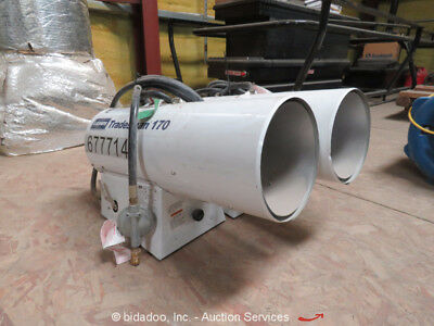 LB White LB170 Indirect Fire LP Jobsite Heater 170,000 BTU bidadoo