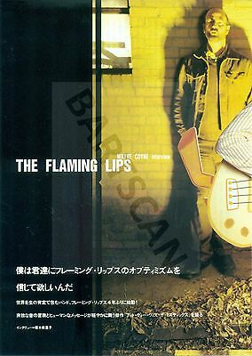 Flaming Lips - Clippings From Japan Magazines Rockin'on And Crossbeat