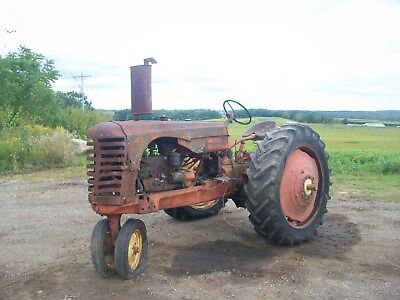 1947 Massey Harris 30 Antique Tractor NO RESERVE ford farmall deere allis oliver