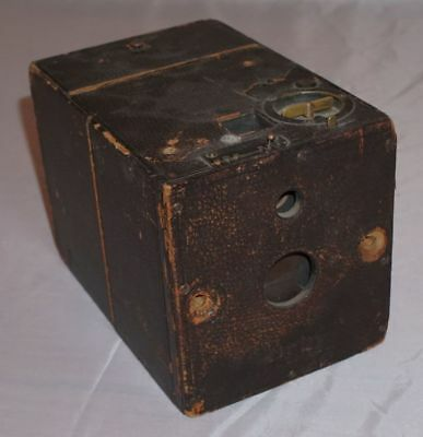 Blair Hawk-Eye Junior Vintage Box Camera w/ two original plate holders