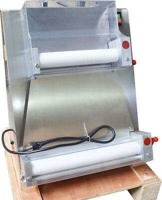 Commercial Automatic Pizza Bread Dough Roller Sheeter Pizza Making Machine 110V