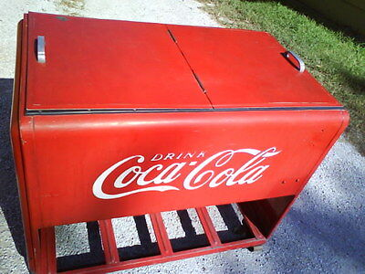 Antique Coke Box Cooler from the 1930's ?