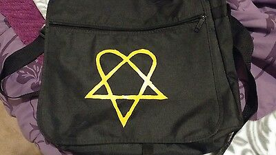 RARE Heartagram HIM Ville Valo Messenger Bag
