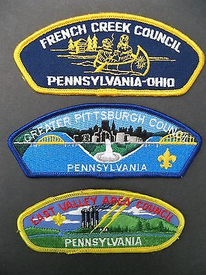 Boy Scouts Of America 3 Pennsylvania Ohio Bsa Csp Council Shoulder Patch