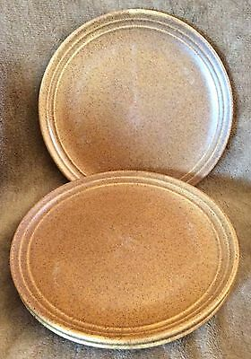Monmouth MOJAVE BROWN Three Dinner Plates