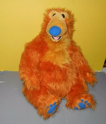 "1998 Mattel Arcotoys Bear in the Big Blue House Lg Shaggy 22"" Stuffed Plush Pal"