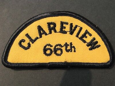 BOY SCOUTS CANADA 66th CLAREVIEW EMBROIDERED PATCH CUBS SCOUTING
