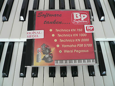 Orginal BP-Software *SOLTON MS5 TOP-ARRANGEMENTS* für Wersi Pegasus/PhonX/Per.