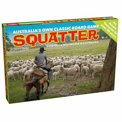 Squatter Board Game Family Game Card Game