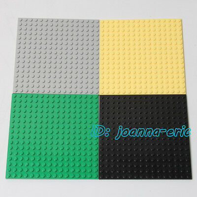 2017 New Minifigure Baseplates 16 X 16 Dots Buildings Blocks Toy Base Plates