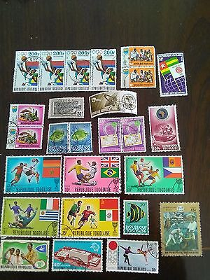 26 Used Stamps Of Republique Togolaise