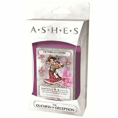 Ashes the Duchess of Deception Expansion Card Game Board Game