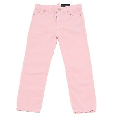 8028T jeans bimba DSQUARED2 MEDIUM WAIST TWIGGY JEAN rosa jean kid