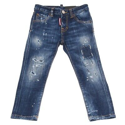 8089T jeans bimba DSQUARED2 COOL GIRL JEAN blu denim jean kid
