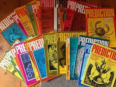 27 Prediction magazines, 1971-74. Astrology, occult Peter Sellers Marilyn Monroe