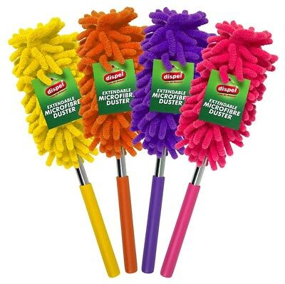 77Cm Telescopic Extendable Microfibre Cleaning Feather Duster Extending Magic