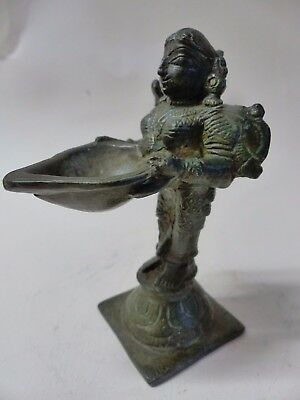 Very Old Bronze Figure - Interesting Example - Hindu Buddhist Interest - Rare