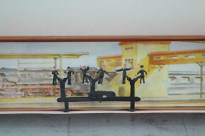 Merten 2280 6 Locomotive Personnel Figures  Z Scale