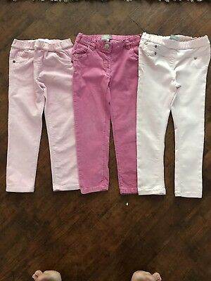 Girls Next Skinny Cords Jeggings  Jeans  Bundle Age 3-4 Mothercare