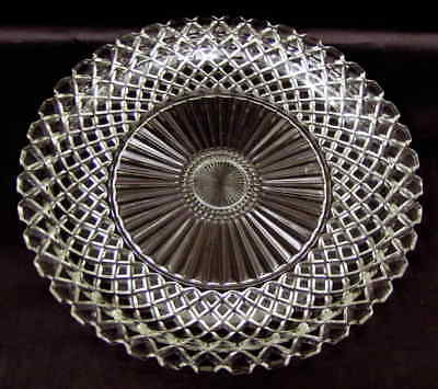 Anchor Hocking WATERFORD CLEAR Sandwich Plate 6733
