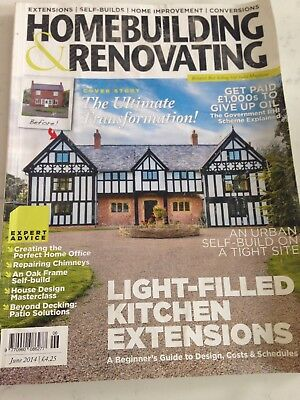 Homebuilding and Renovating Magazine - June 2014 extensions self-builds conversi