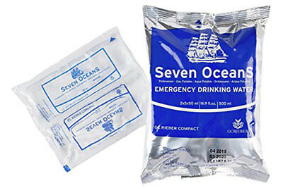 Seven Oceans Long-Life Emergency Drinking Water 500ml For Liferafts