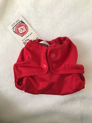 Rumparooz One Size Cloth Diaper COVER - Scarlet