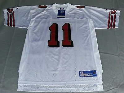 5eb0457c4 ... new zealand alex smith 11 san francisco 49ers reebok jersey size xl  white 31b63 5f92b