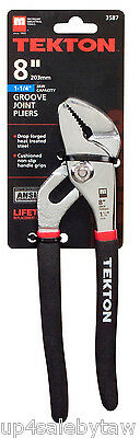 TEKTON 3587 8-Inch Tongue and Groove Joint Pliers