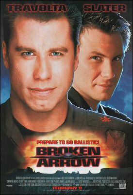Broken Arrow Movie Poster Print - 1996 - Action - 1 Sheet Artwork
