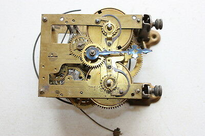Vintage Antique Clock Mechanism Clockwork Pendulum Escapement Spares Repair