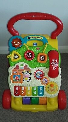 Vtech First Steps Baby Walker Very Good Condition