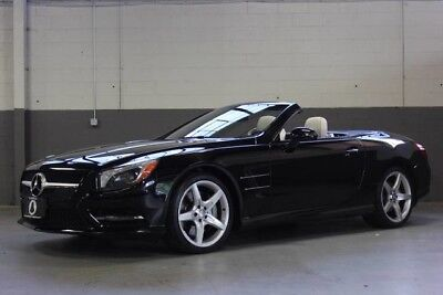 2014 Mercedes-Benz SL-Class Base Convertible 2-Door BEAUTIFUL 2014 MERCEDES-BENZ SL550, ONLY 26,426 MILES, WARRANTY!!!