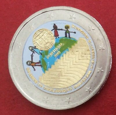 2008 Portugal 2 Euro Commemorative Couleur
